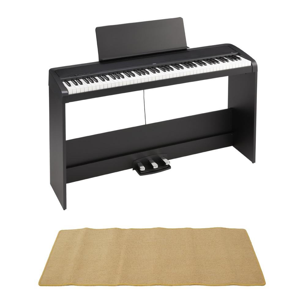 KORG B2SP BK 電子ピアノ ピアノマット(クリーム)付きセット