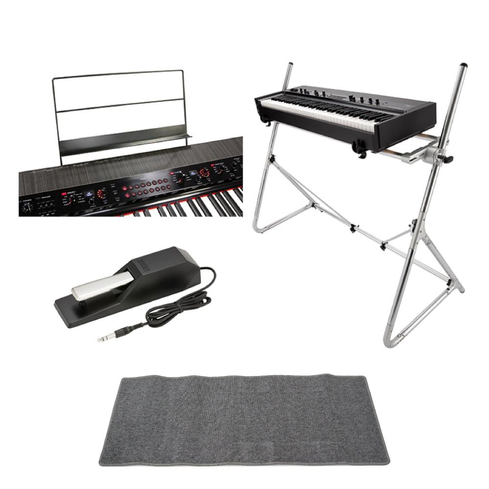 KORG Grandstage GS1-73 73鍵 ステージピアノ ピアノマット(グレイ)付きセット