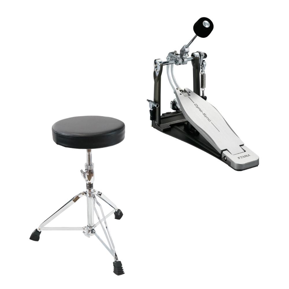 TAMA HPDS1 Dyna-Sync Drum Pedal ドラムペダル Dicon Audio SB-009 ドラムスローン付きセット