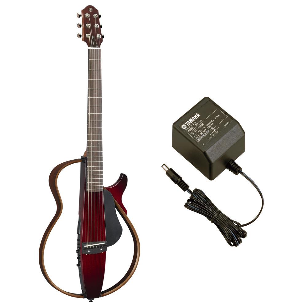 YAMAHA SLG200S CRB サイレントギター スチール弦モデル PA-3C 電源アダプター付き