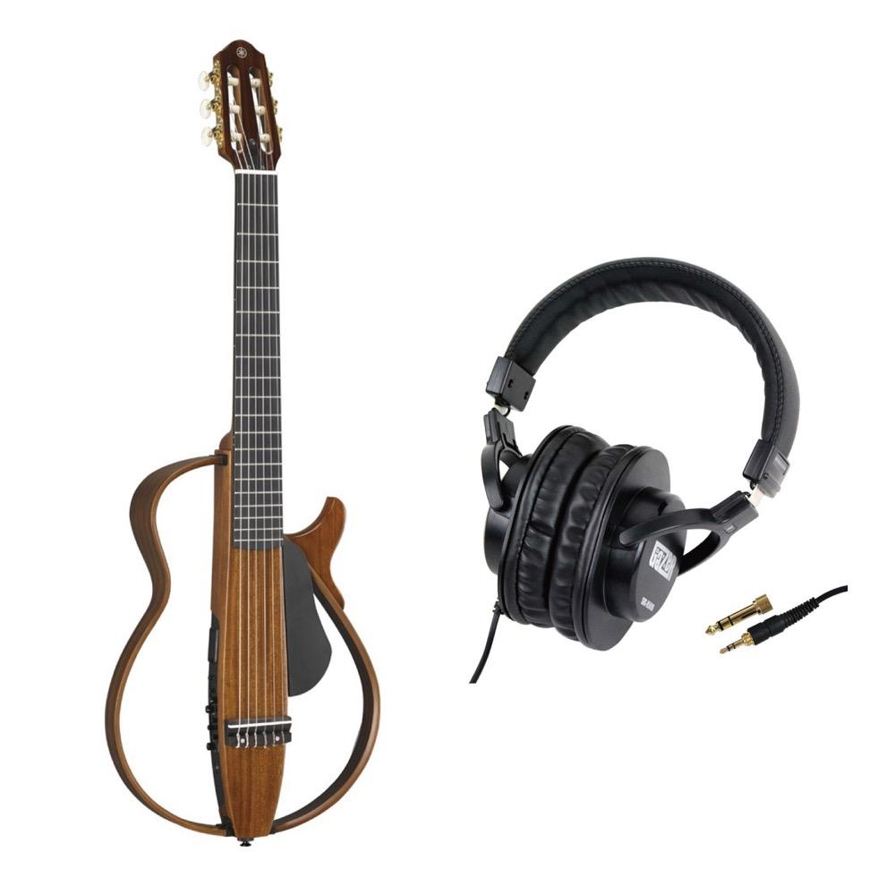 YAMAHA SLG200NW サイレントギター SD GAZER SDG-H5000 モニターヘッドホン付きセット