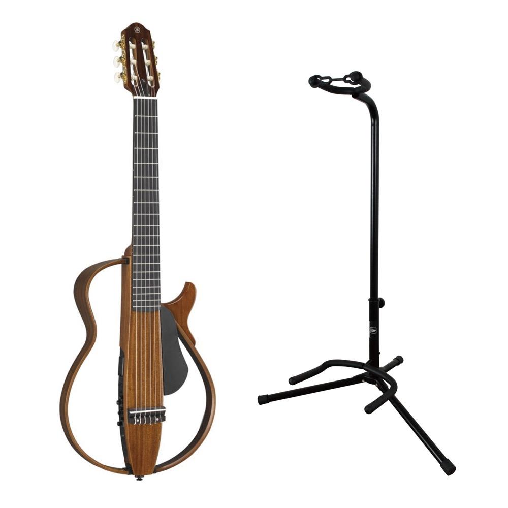 YAMAHA SLG200NW サイレントギター ギタースタンド付きセット