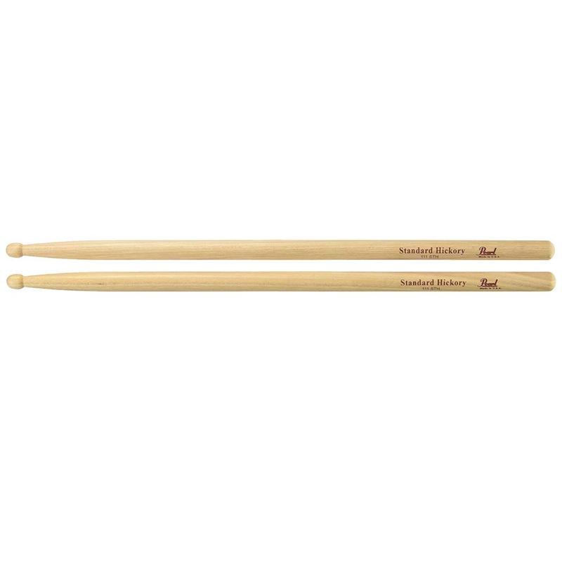 Pearl 111STH ヒッコリー ドラムスティック×12セット