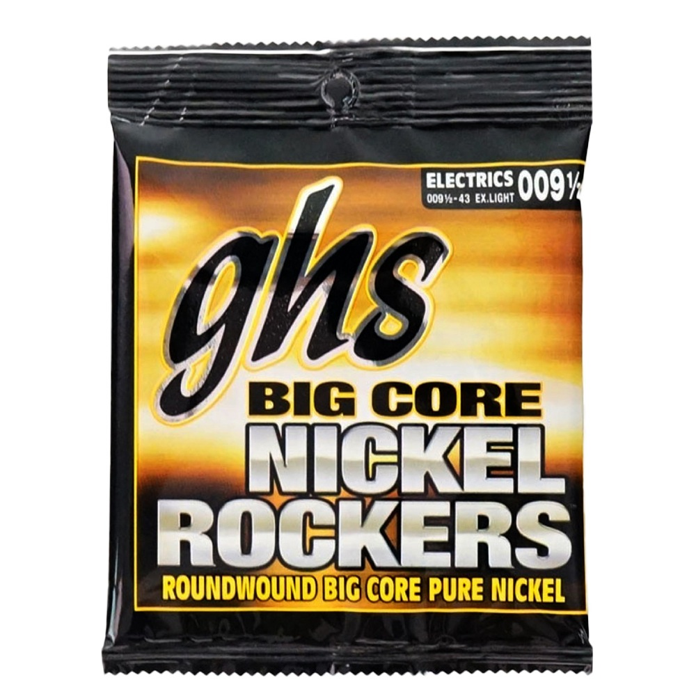 GHS BCXL Big Core Nickel Rockers エレキギター弦×12セット