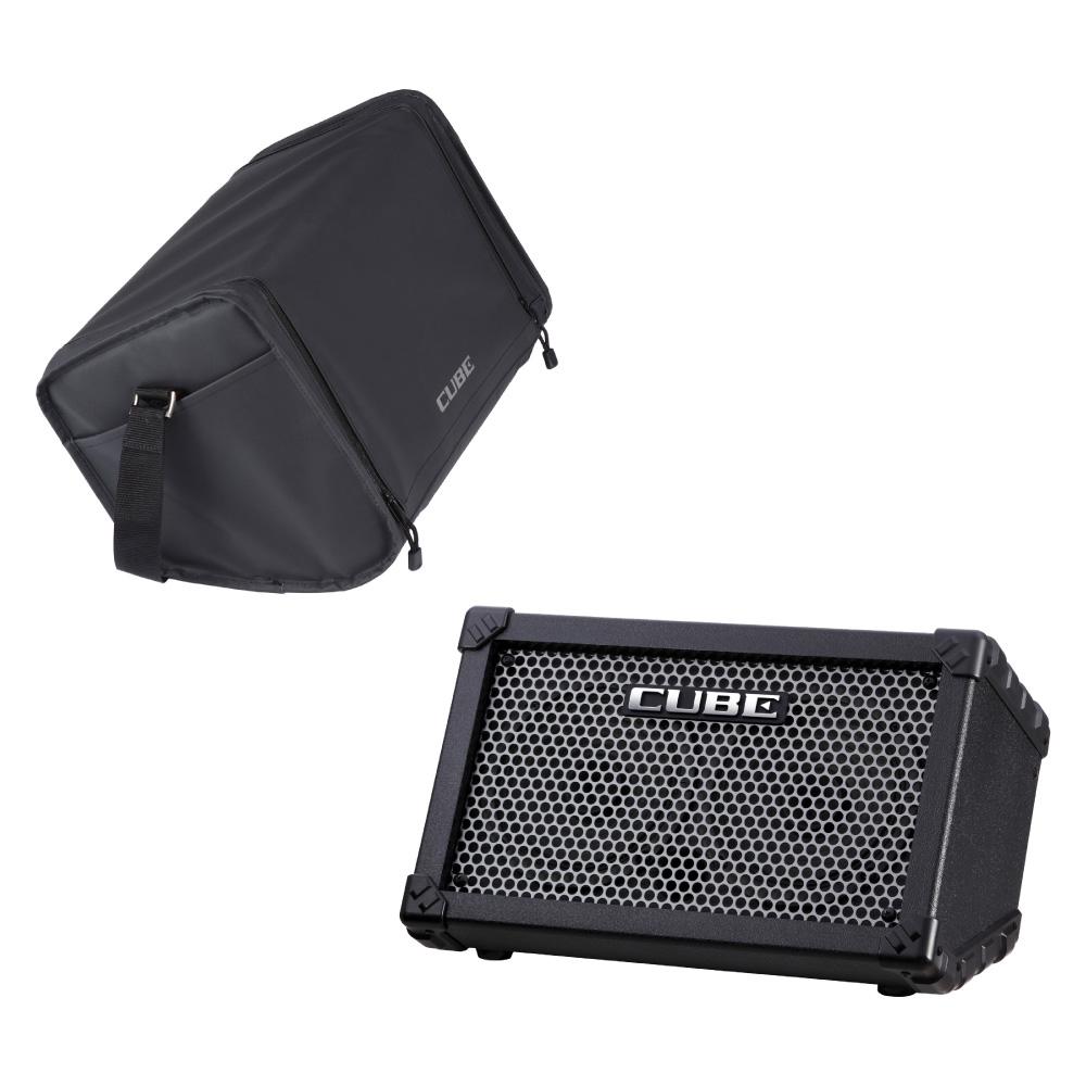 ROLAND CUBE Street BK 乾電池駆動可能ギターコンボアンプ キャリングバッグセット