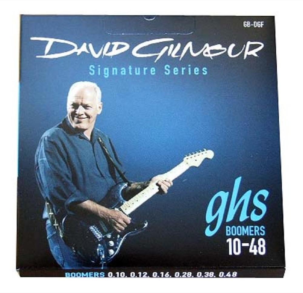 GHS GB-DGF 10-48 David Gilmour Signature Blue Set エレキギター弦×12セット