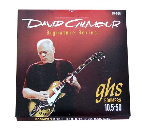 GHS GBDGG 0105-50 David Gilmour Signature Red Set エレキギター弦×12セット
