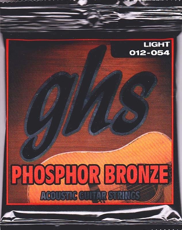 GHS S325 Phosphor Bronze 12-54 アコースティックギター弦×12セット