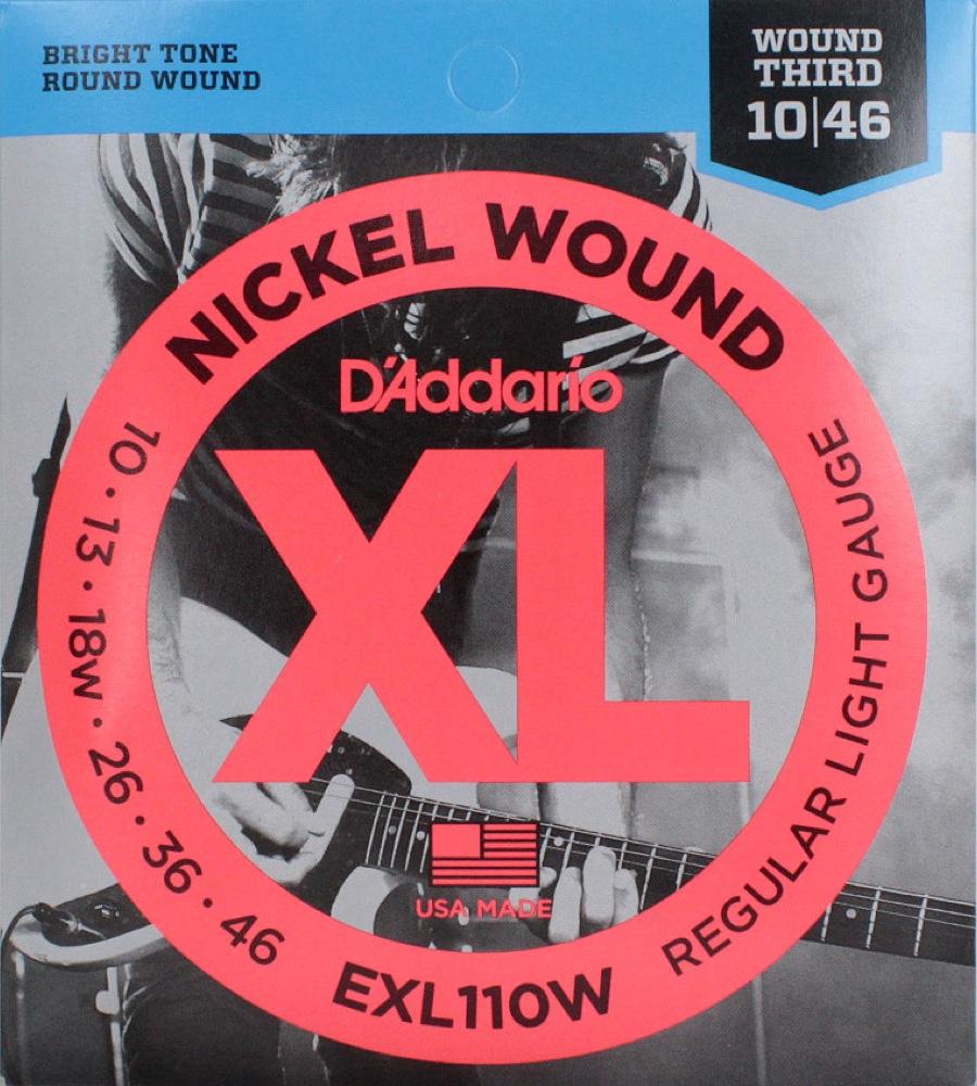 D'Addario EXL110W×10SET