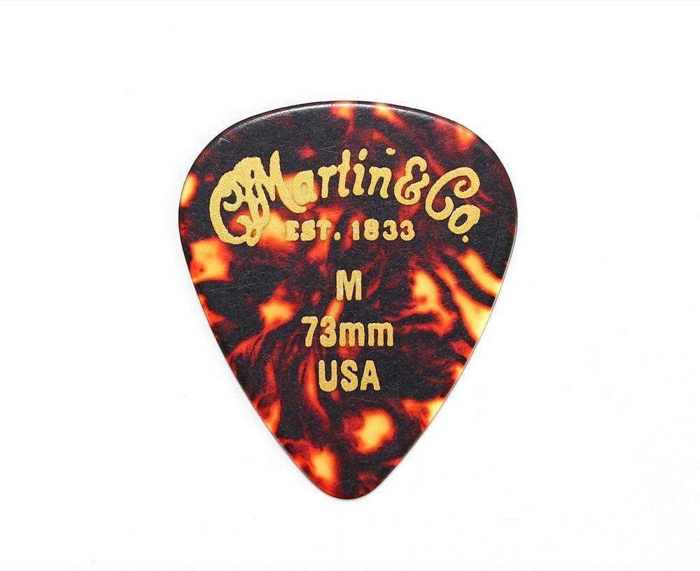 MARTIN TearDrop Medium 0.73 ギターピック ティアドロップ型 ミディアム 12枚セット×6