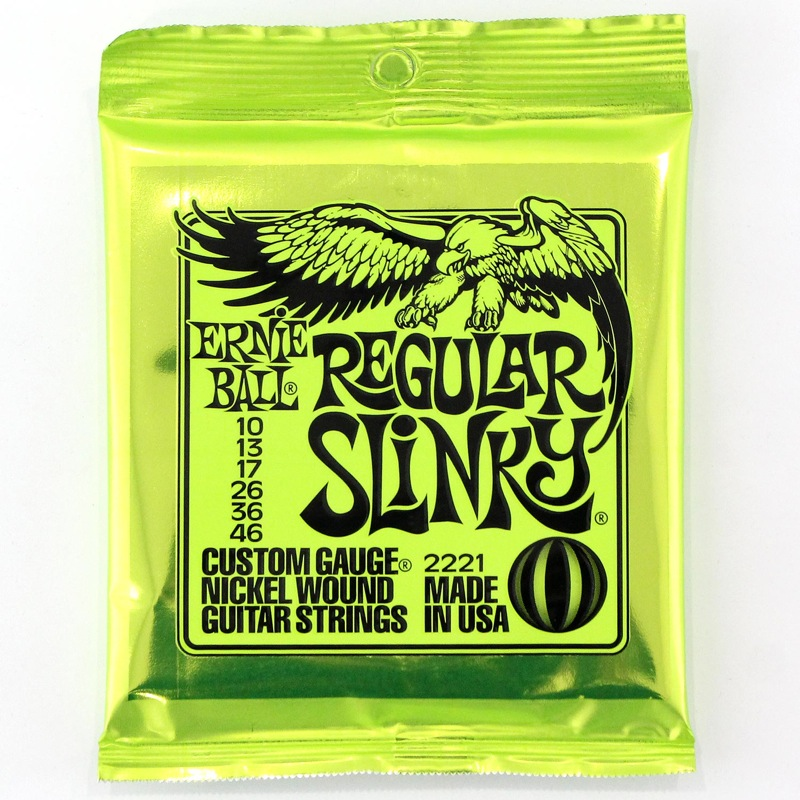 【お得な12セット!】ERNIE BALL 2221 Regular Slinky エレキギター弦×12セット