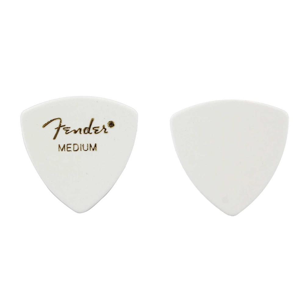 フェンダー おにぎり型ピック ミディアム 12枚セット Fender 346 お買得 Shape ギターピック×12枚 Celluloid White 最新 Medium Classic Picks