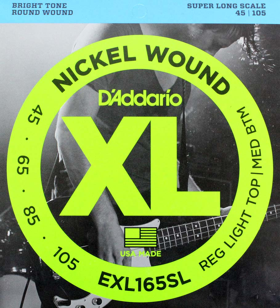 D'Addario EXL165SL×5SET ベース弦