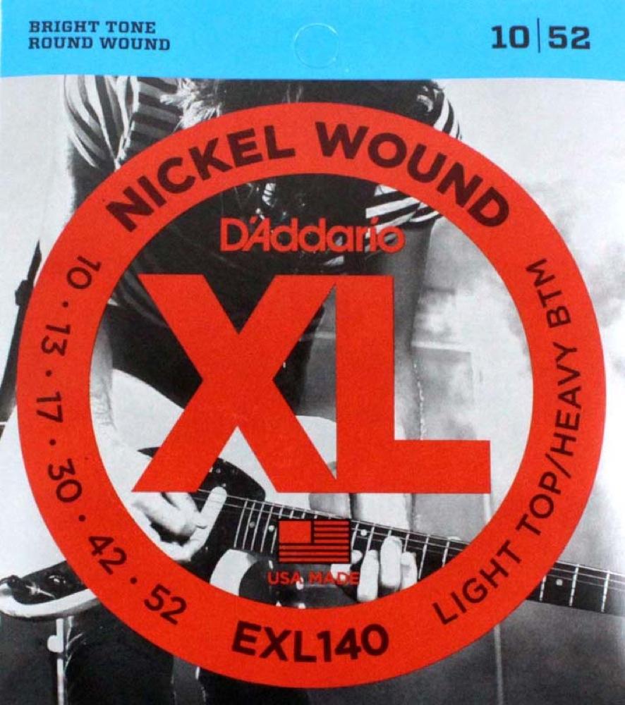 D'Addario EXL140×10SET エレキギター弦