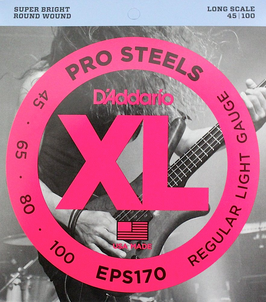 D'Addario EPS170×5SET ベース弦