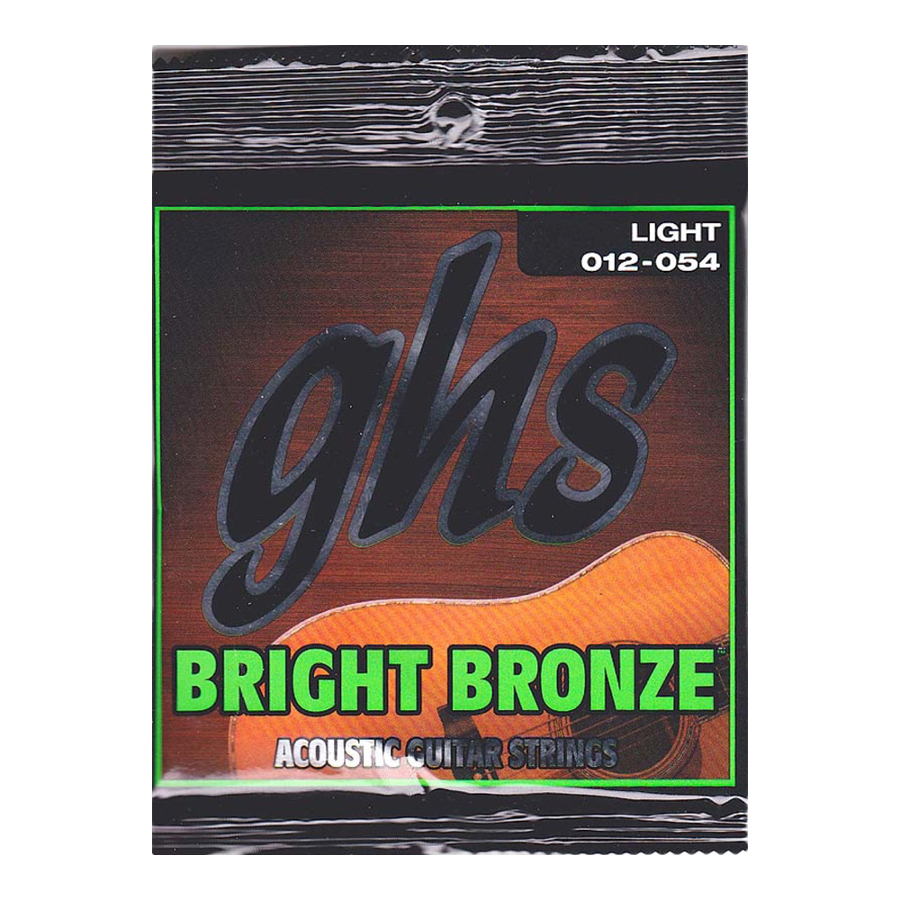 GHS Bright Bronze BB30L 12-54 アコースティックギター弦×12セット