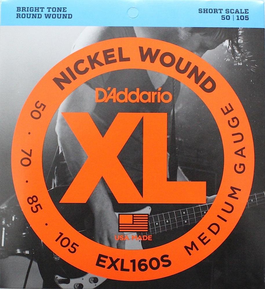 D'Addario EXL160S×5SET エレキベース弦
