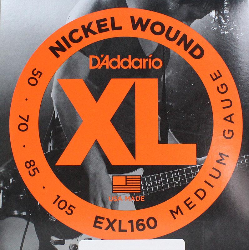 D'Addario EXL160×5SET エレキベース弦