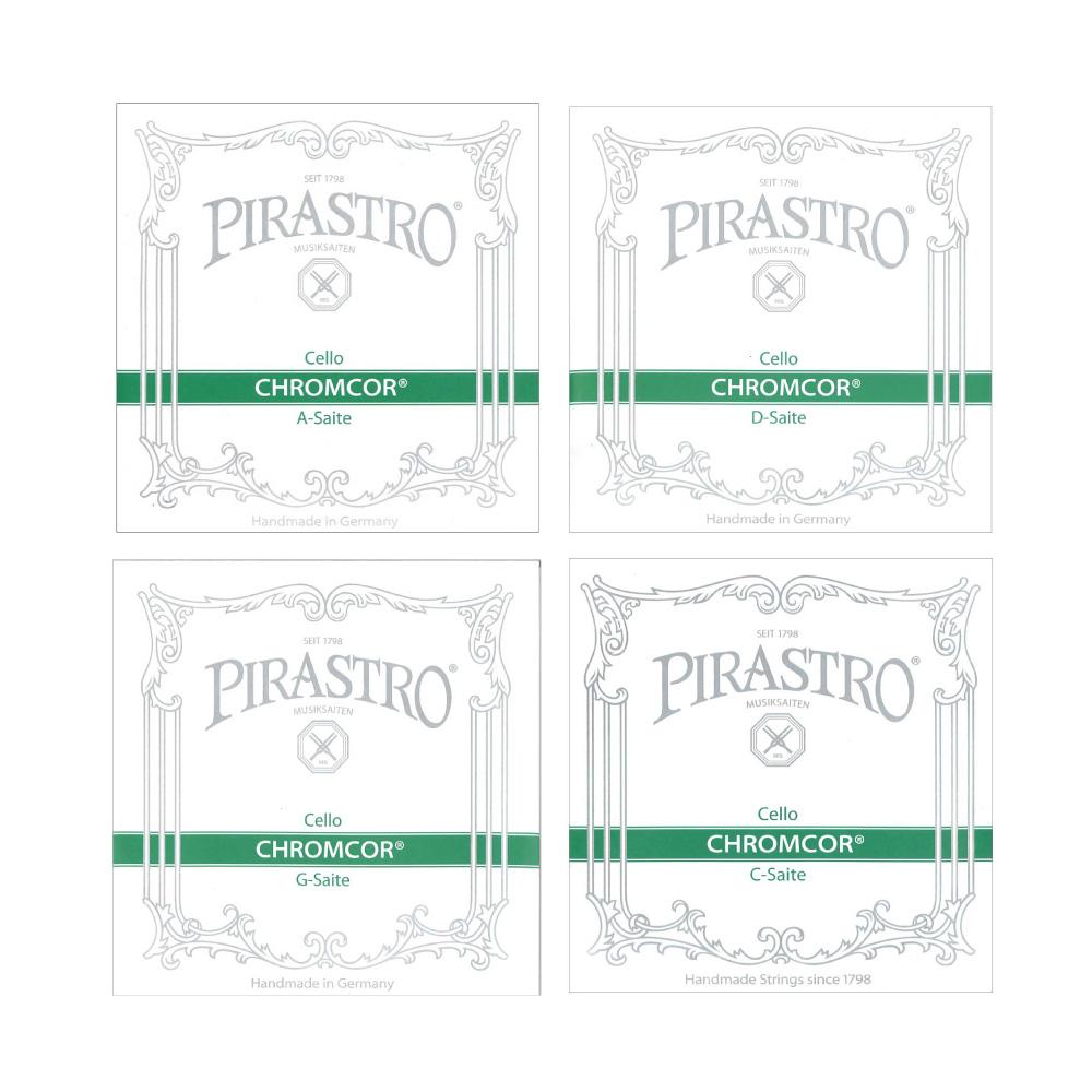 PIRASTRO Cello Chromcor チェロ弦セット クロムスチール
