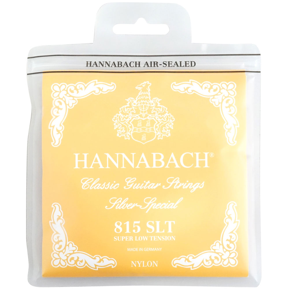 E815 HANNABACH クラシックギター弦×6セット Set SLT-Yellow