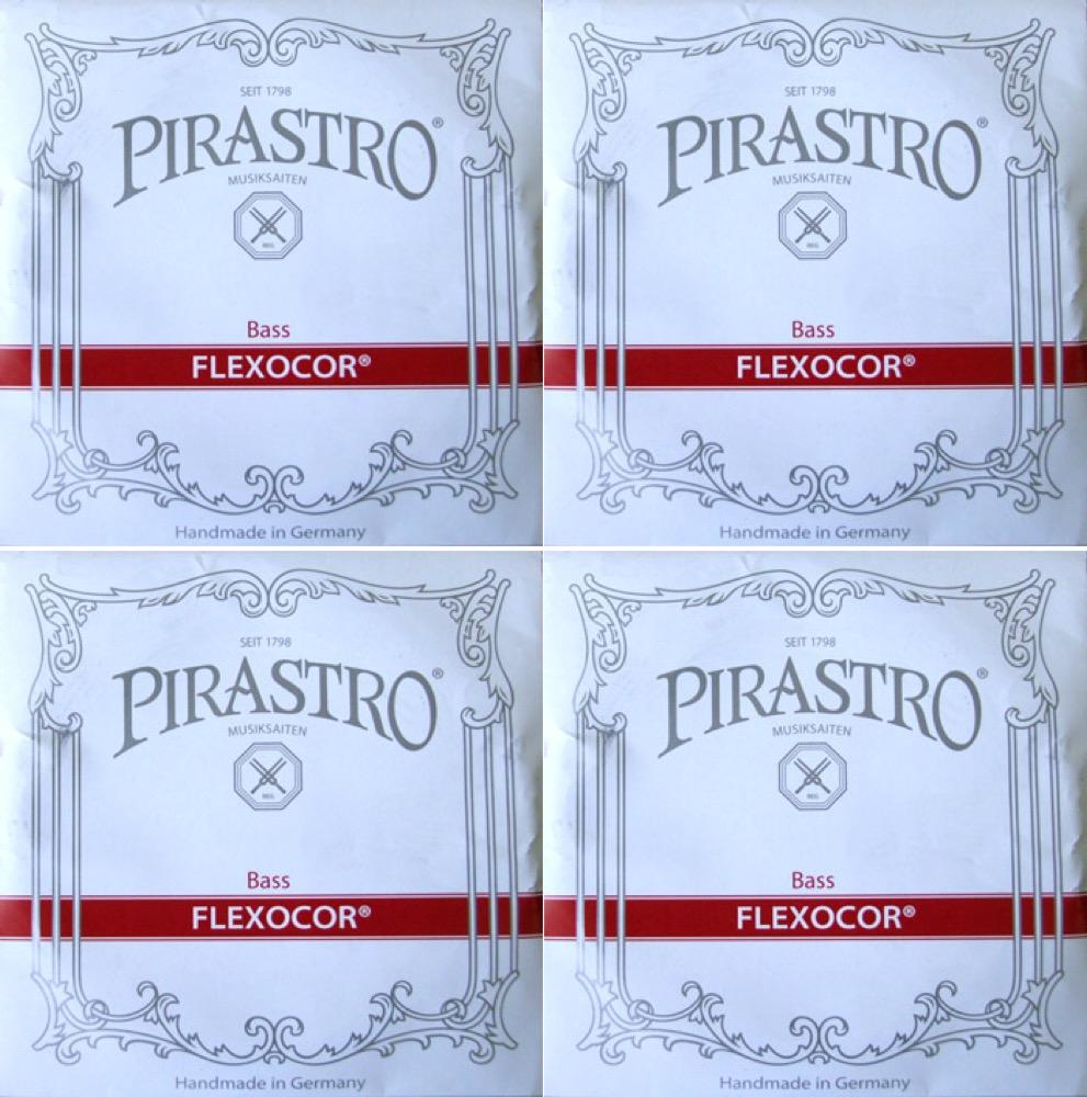PIRASTRO Bass FLEXOCOR コントラバス用弦セット