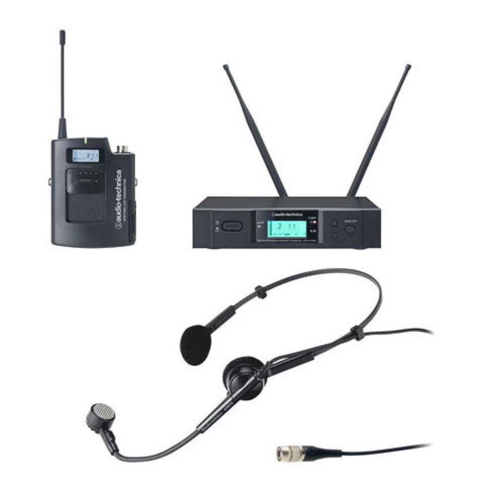 AUDIO-TECHNICA ATW-3110bJ+ATM75cW ヘッドセットワイアレスセット