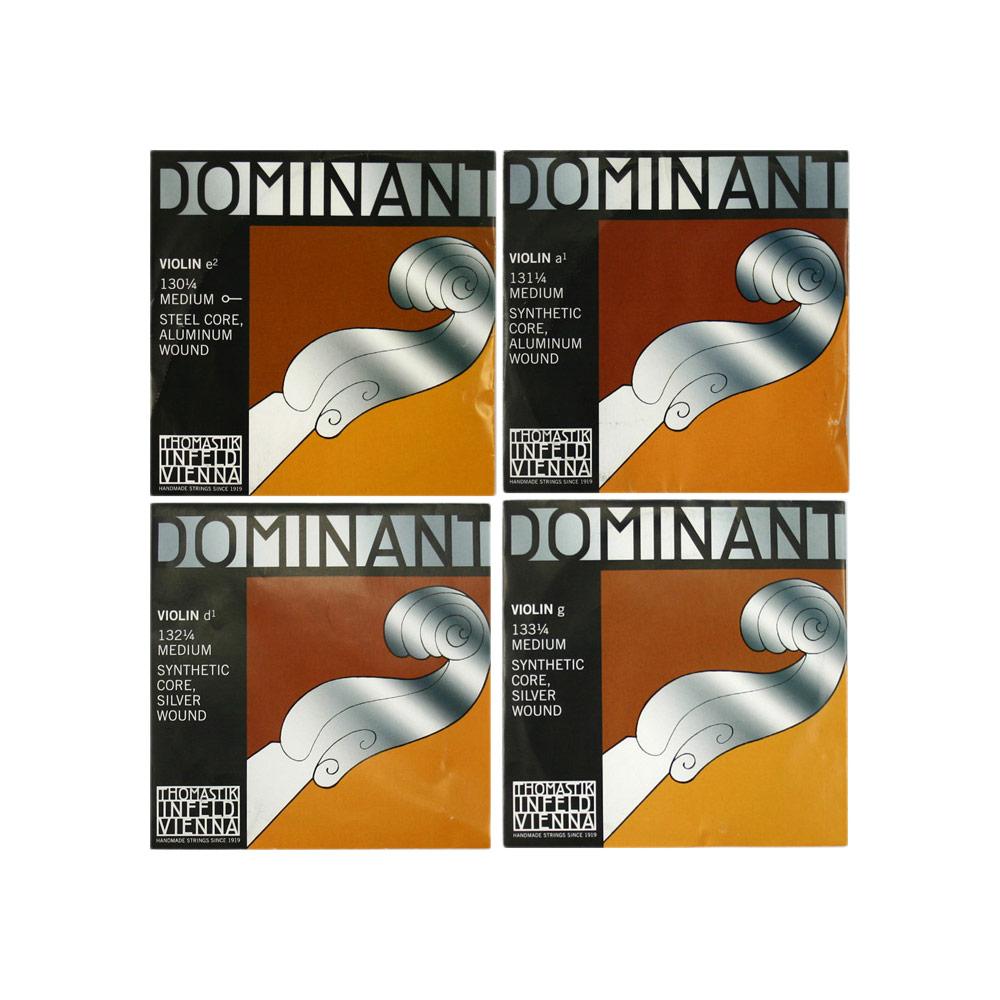 ドミナントバイオリン弦 E線No.130 1 4のセット Thomastik E線スチール ボールエンド 4分数バイオリン弦セット Dominant アルミ 2020秋冬新作 ついに入荷