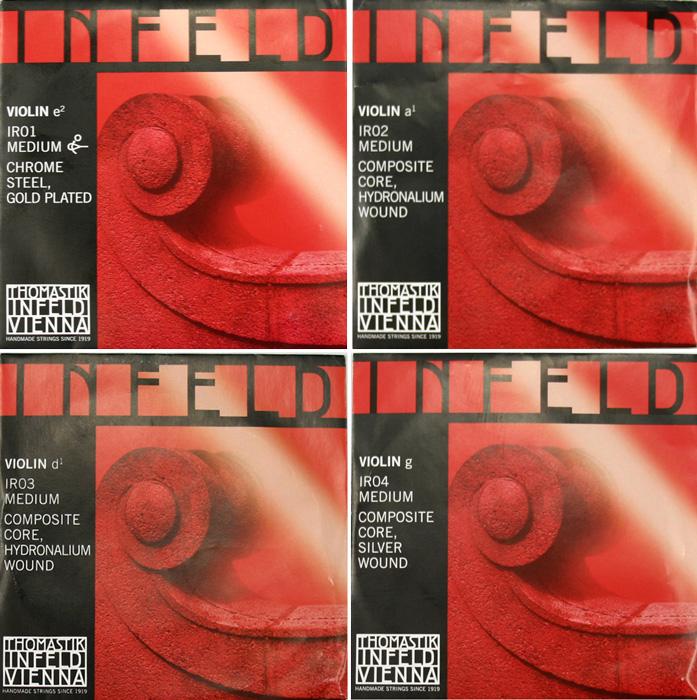 Thomastik Infeld RED インフェルト 赤 バイオリン弦セット