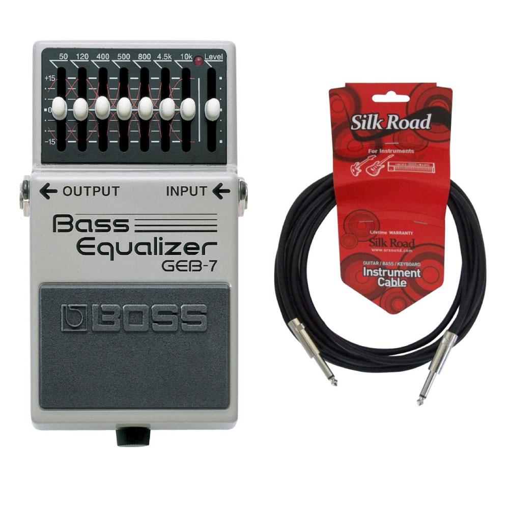 BOSS GEB-7 3Mシールドケーブル付き ベースイコライザー エフェクター