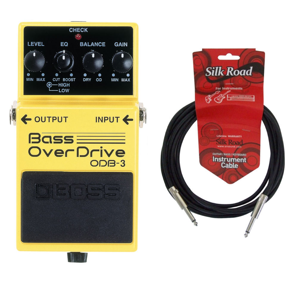 BOSS ODB-3 3Mシールドケーブル付き ベースオーバードライブ