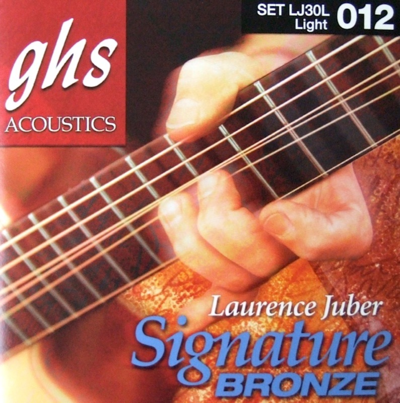 GHS LJ30L Signature Phosphor Bronze アコースティックギター弦×12セット