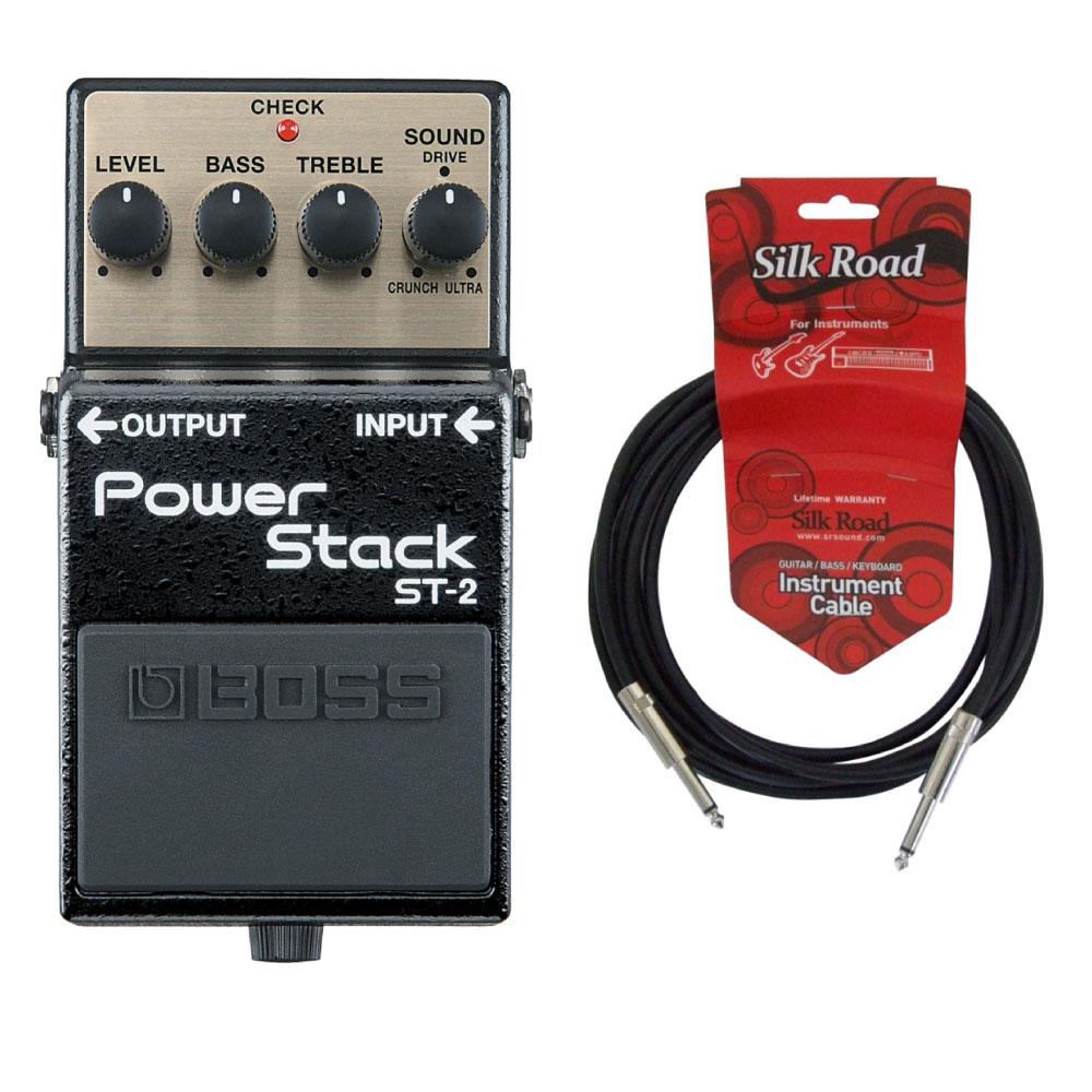 BOSS ST-2 Power Stack 3Mシールドケーブル付き パワースタック ギターエフェクター