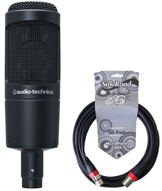 AUDIO-TECHNICA AT2035 5Mマイクケーブル付き コンデンサーマイク