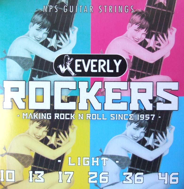 Everly strings Rockers #9010 エレキギター用弦×12セット