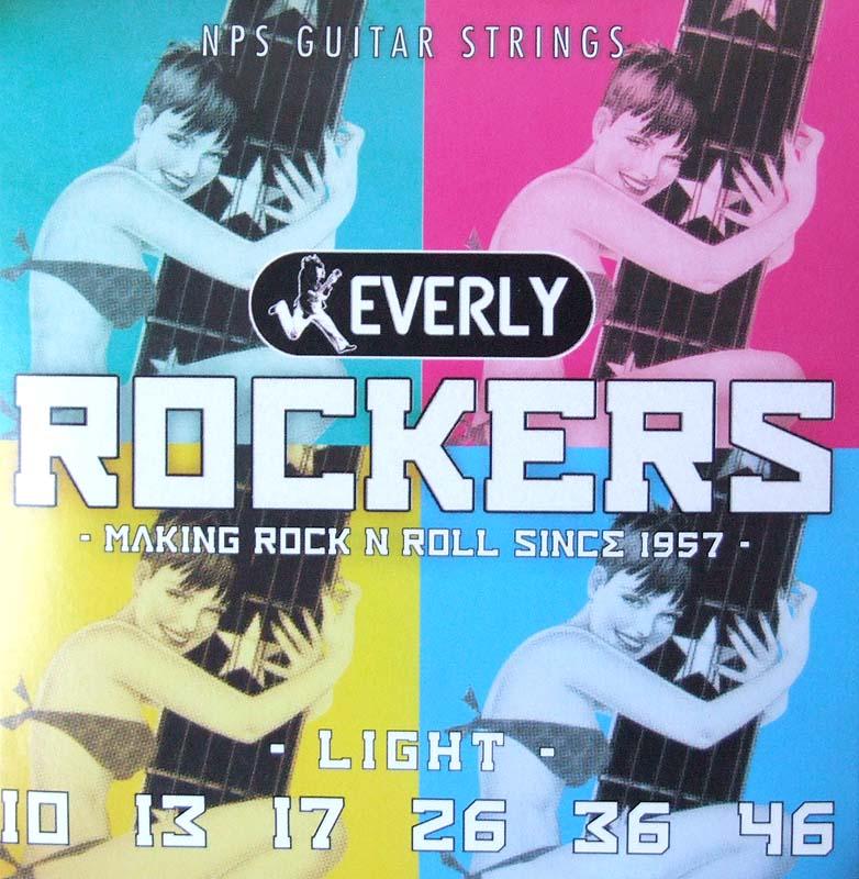 Everly strings Rockers #9010 エレキギター用弦×12セット