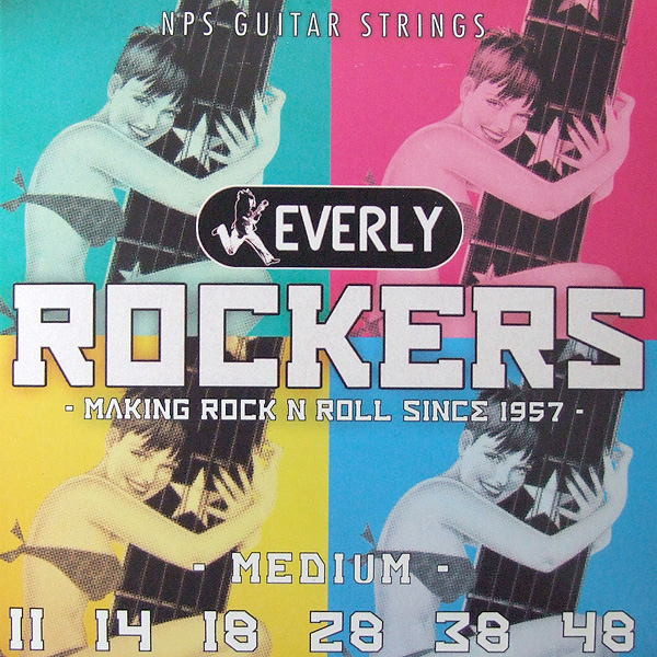 Everly strings Rockers #9011 エレキギター用弦×12セット