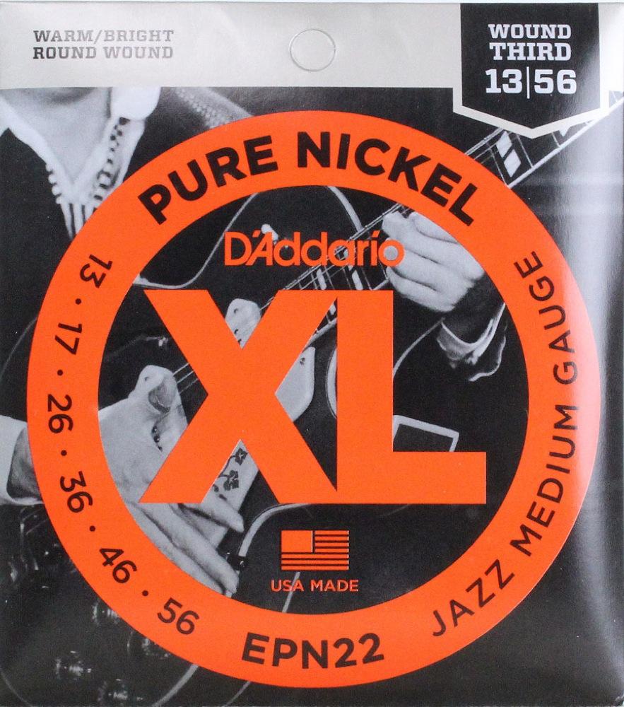 D'Addario EPN22 Jazz Medium エレキギター弦×10SET