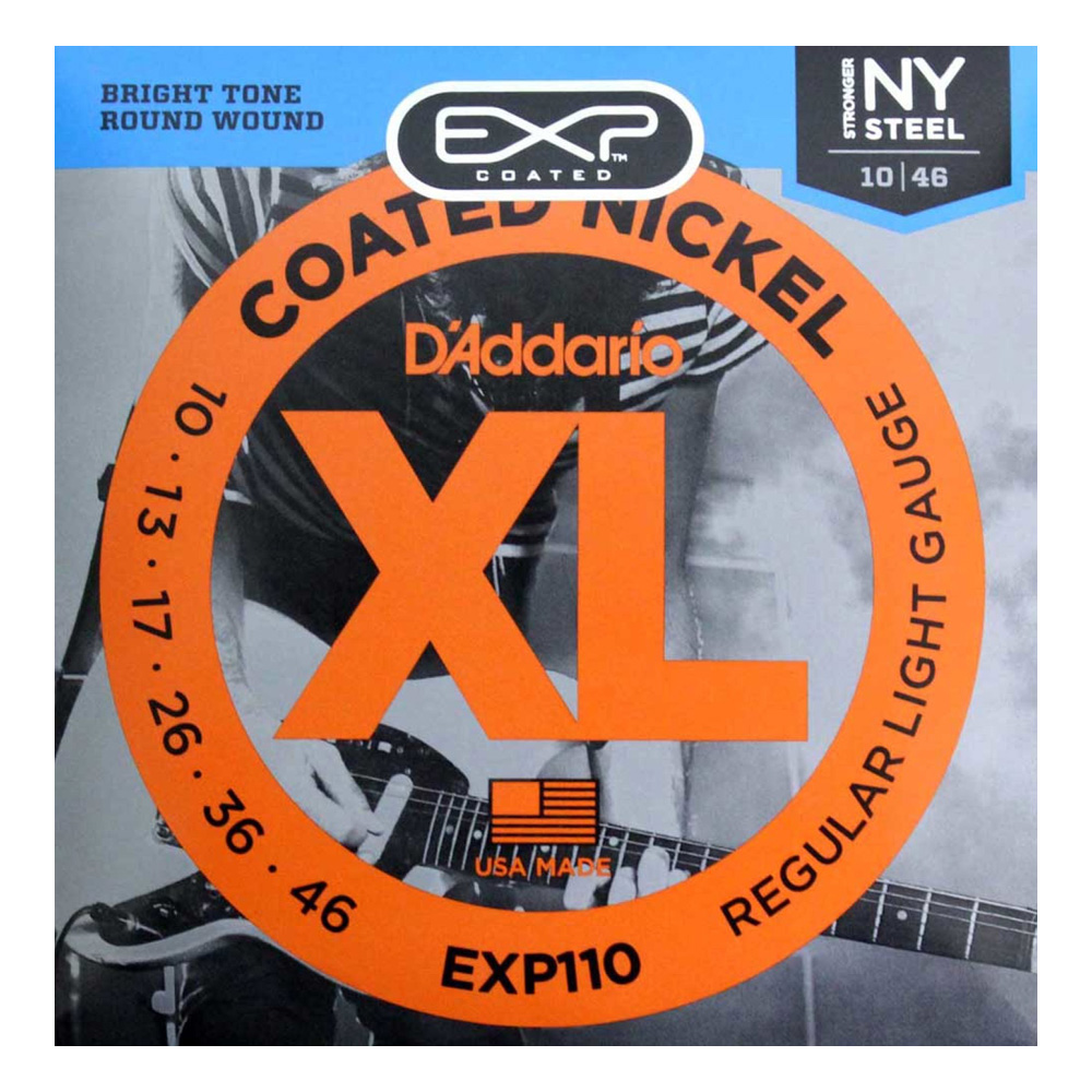 D'Addario EXP110 Coated Regular Light×10SET エレキギター弦