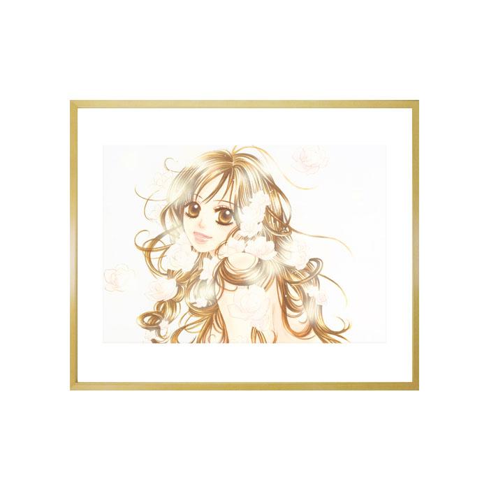 宮坂香帆先生直筆サイン入り!超高画質複製原画「『彼』first love」2002年バージョン