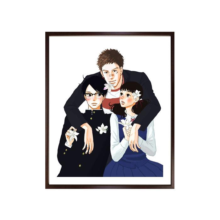 映画化記念!小玉ユキ先生直筆サイン入り超高画質複製原画プリマグラフィ「坂道のアポロンB」(サイズ中)