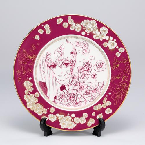 萩尾望都先生デビュー50周年記念『ポーの一族』×Noritake コラボ特製プレートA<薔薇>