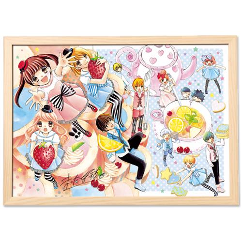 「12歳。」最終回記念!まいた菜穂先生直筆サイン入り超高画質複製原画(プリマグラフィ)