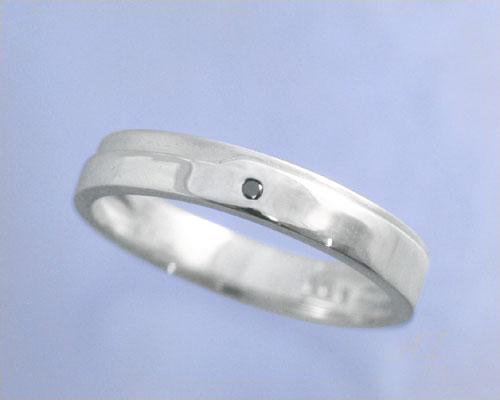 定番 AI mavie(アイ マヴィ)K14ホワイトゴールド ダイヤモンド リング/結婚指輪(指輪)「aile(エル)」Men&39;s/メンズ【刻印なし→納期約3週間、刻印あり→約3週間+3日】/製造オーダー品 約20日間納期【コンビニ受取対応商品】, バンスポーツ 7515d158