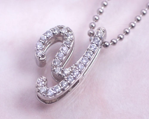 Ciaoaccessories rakuten global market letter y initial necklace letter y initial necklace cubic zirconia cz platinum coating silver mozeypictures Image collections