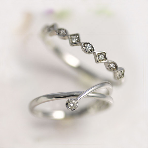 normal ring diamond twist yellow rings gold wedding set product main