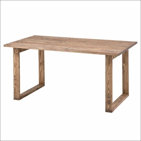 【送料無料】 天然木 ダイニングテーブル お洒落 木製 ダイニングテーブル レトロ カントリー ヴィンテージ ビンテージ アジアン 北欧 ダイニング 食卓 PS