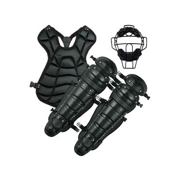 野球 硬式用キャッチャー防具3点セットKS724 ベルガードファクトリー硬式用キャッチャーマスク硬式用プロテクター硬式用レガース