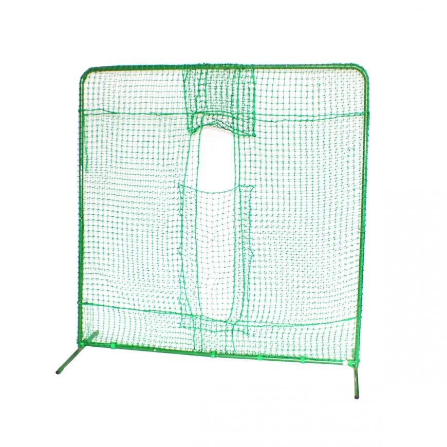 野球 ピッチングマシン用 保護ネット FBNH-2022W マシン前面 ダブルネット フィールドフォース 防球ネット ピッチングマシン用 硬式球対応