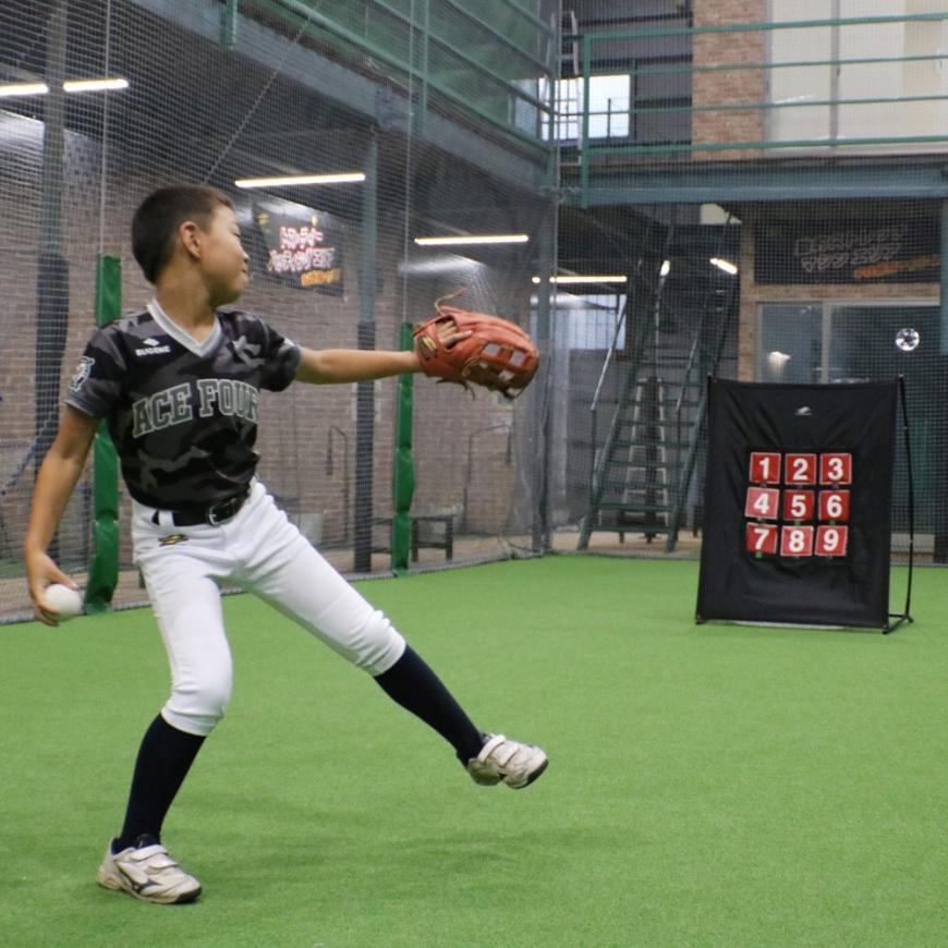 ターゲットナイン FPN-1310P ストラックアウト ピッチング練習 イベント フィールドフォース 野球 ピッチング 野球 壁当て 壁当て ネット 野球ネット