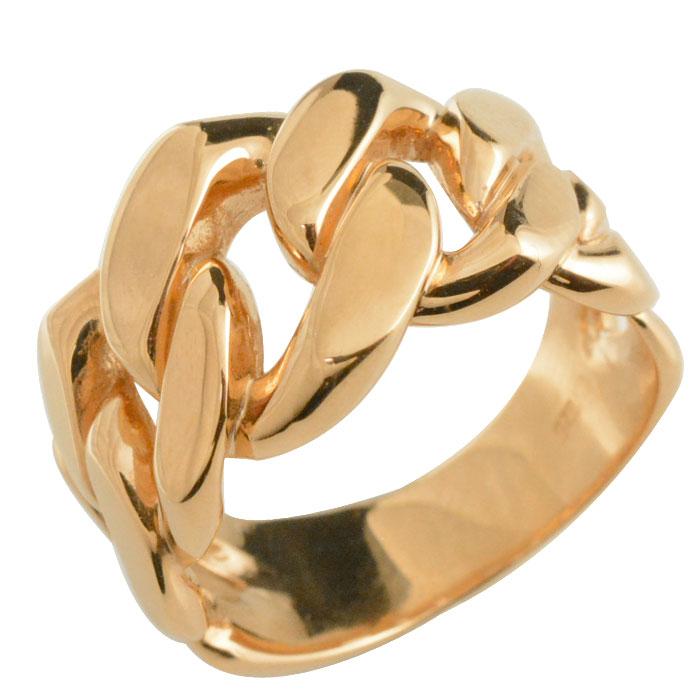 リング ピンクゴールド k18 喜平 祝日 幅広 10%OFF メンズ 指輪 18金 シンプル 地金リング 18k 12mm ブライダル キヘイ ☆送料無料☆ 当日発送可能